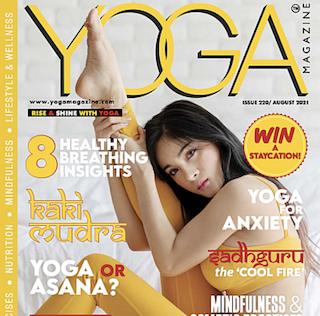 YOGA Magazine: Issue 220 -August 2021